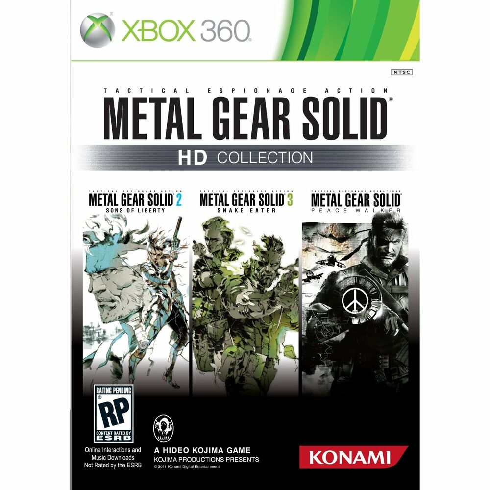 Xbox 360 Games Collection METAL GEAR SOLI...