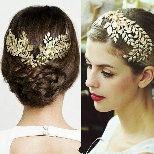 vintage style hair accessories vintage wedding bridal gold hair accessories headband 3068