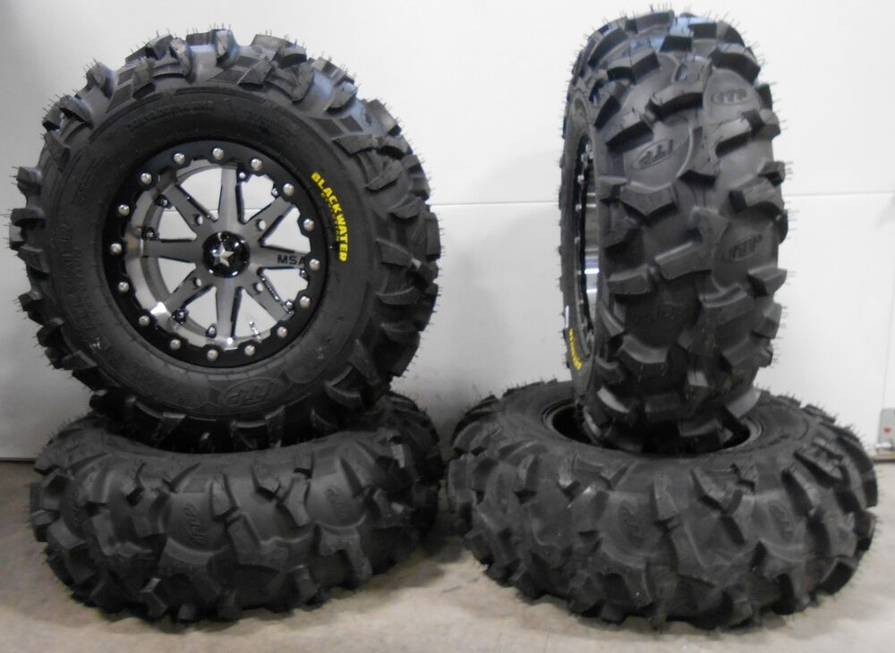 msa lok 14 utv wheels 30 blackwater tires polaris rzr 1000 xp ebay. Black Bedroom Furniture Sets. Home Design Ideas