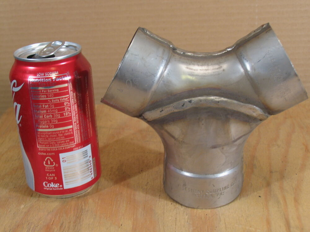 Quot stainless steel deg wye pipe fitting allegheny bell