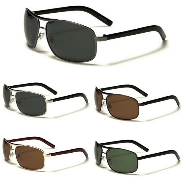 Polar spex polarized mens retro vintage small aviator for Mens fishing sunglasses