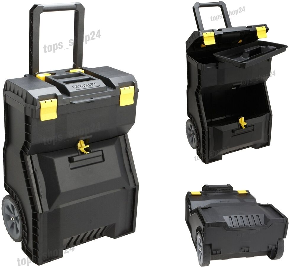 New Stanley Mobile Work Center Large Tool Box Storage