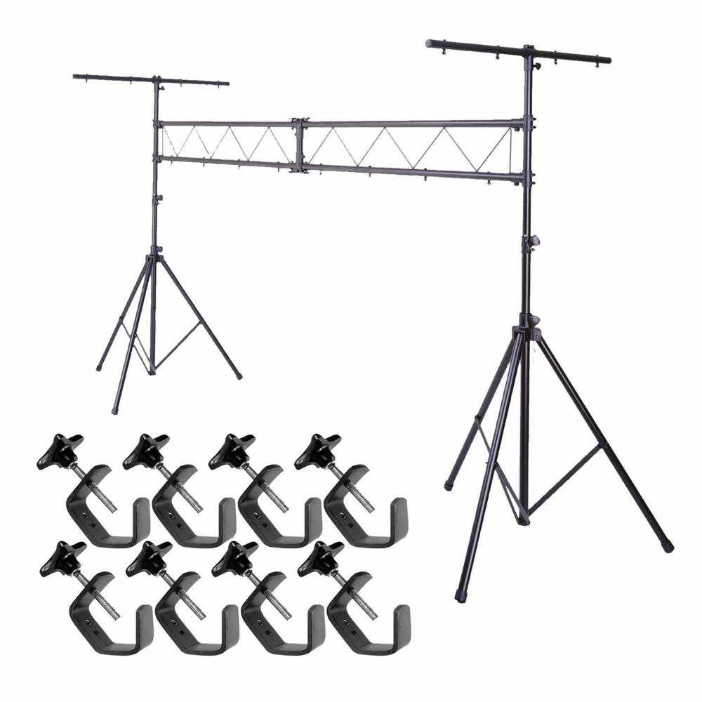 10ft mobile dj lighting truss stand stage light system w t for Truss package cost