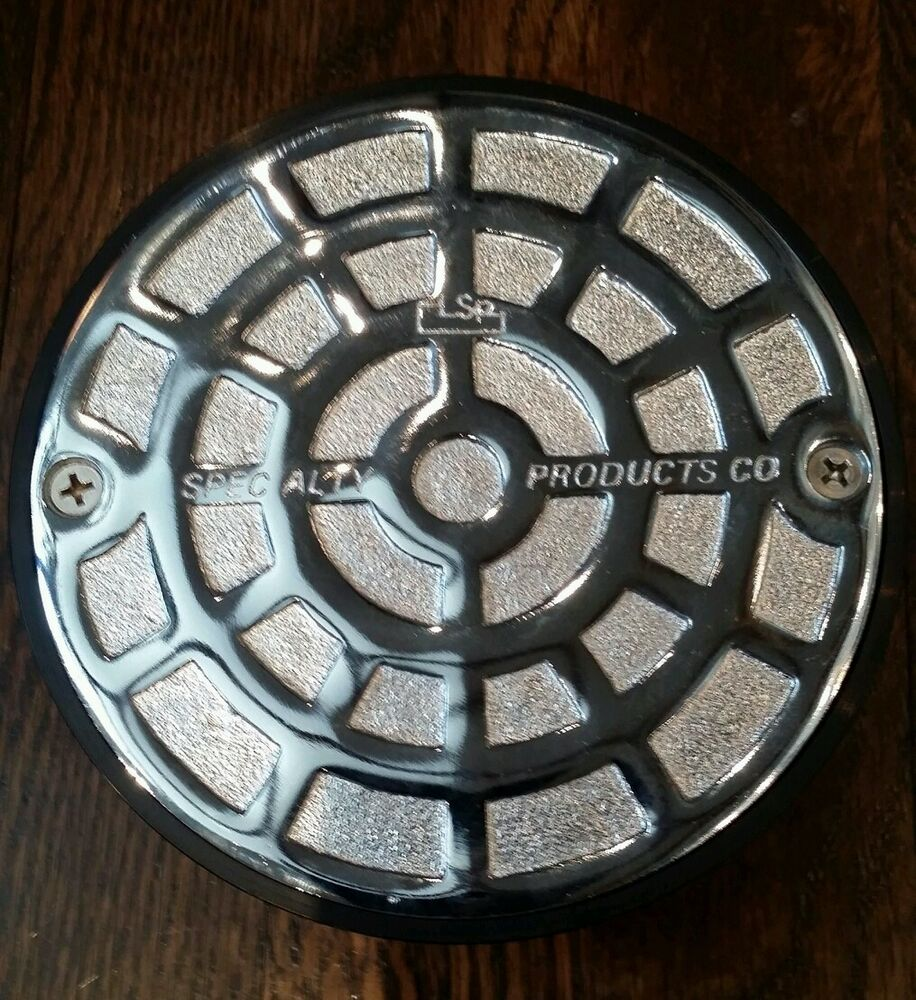 Cover for floor drain or clean out chrome plated cast iron for Floor clean out