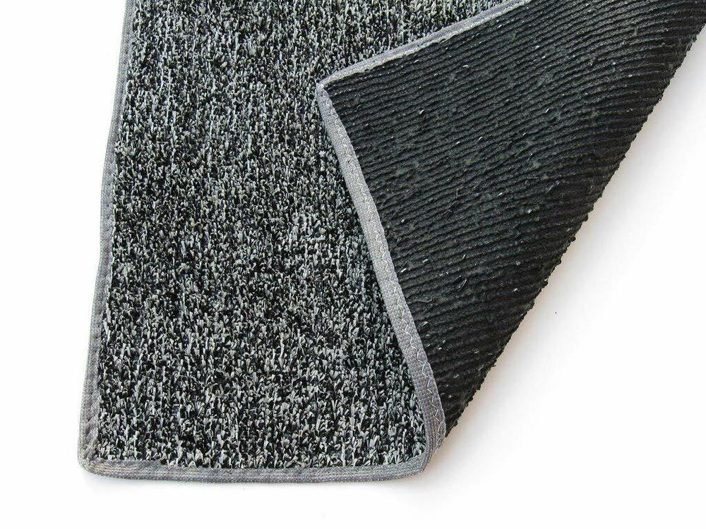 Beaulieu Indoor/Outdoor GreyBlack Artificial Grass Turf Area Rug Patio Backyard : eBay
