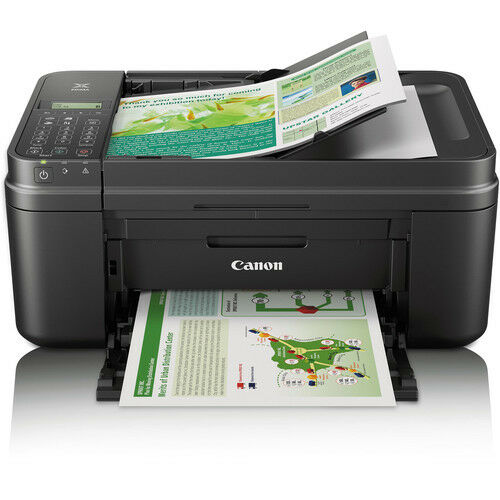 canon pixma wi fi office all in one color printer fax scanner copier cloud ebay. Black Bedroom Furniture Sets. Home Design Ideas