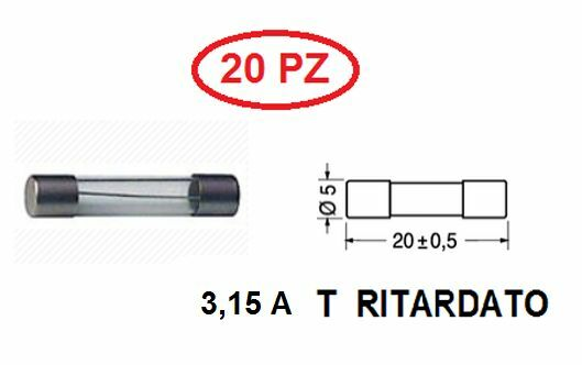 Electrical Equipment & Supplies Micro Fusibile Ritardato Fuse Slow Tr5 1a Rft 1a