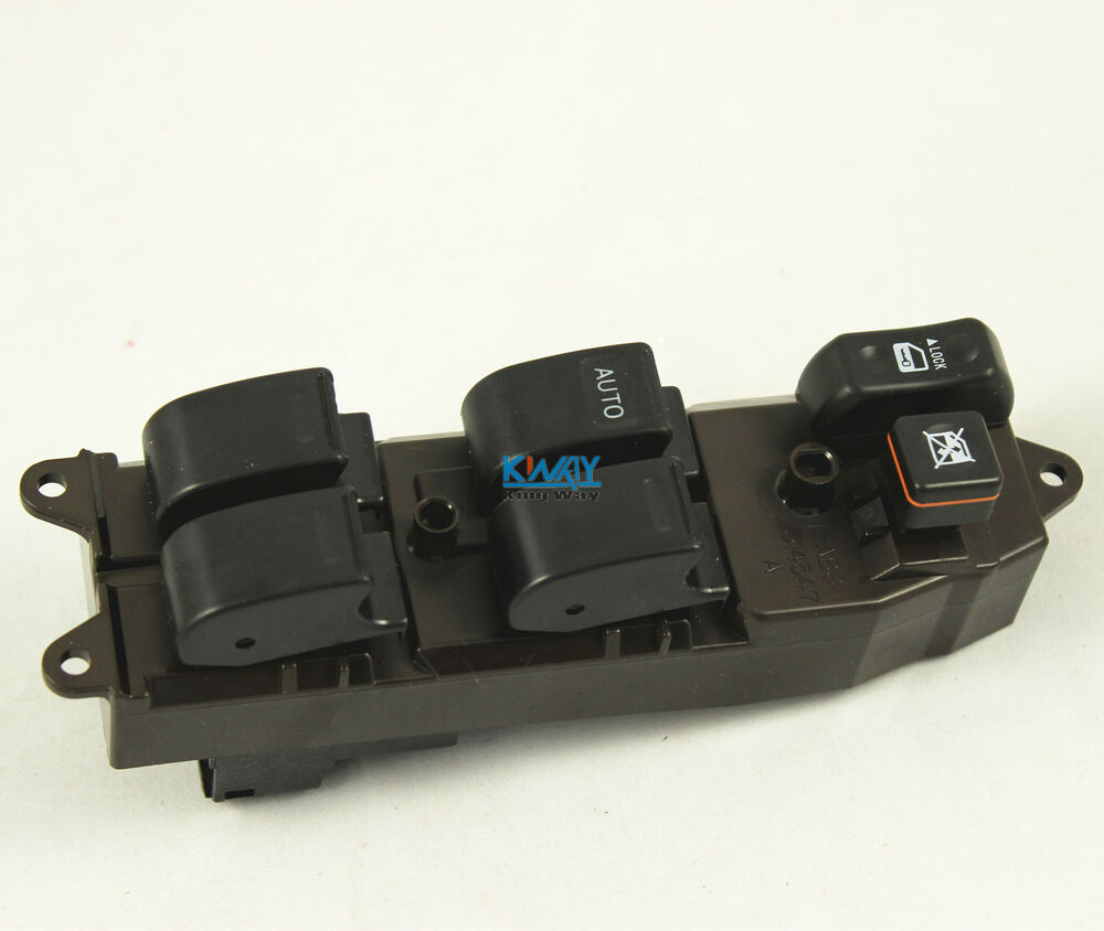 New electric power window master switch for 2002 2009 for 2002 toyota camry power window switch