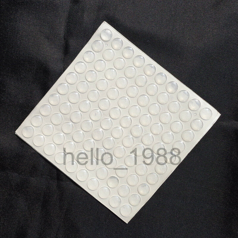 Kitchen cabinet door pad rubber bumper cushion anti collision 10mm 2mm ebay - Door cushion pads ...