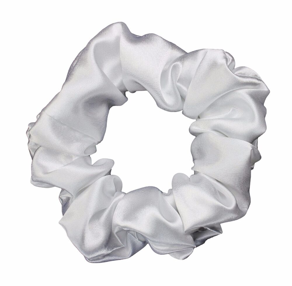 how to make a satin scrunchie