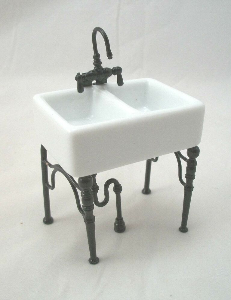 kitchen sink furniture kitchen sink small 1 742 4 dollhouse miniature furniture 13791