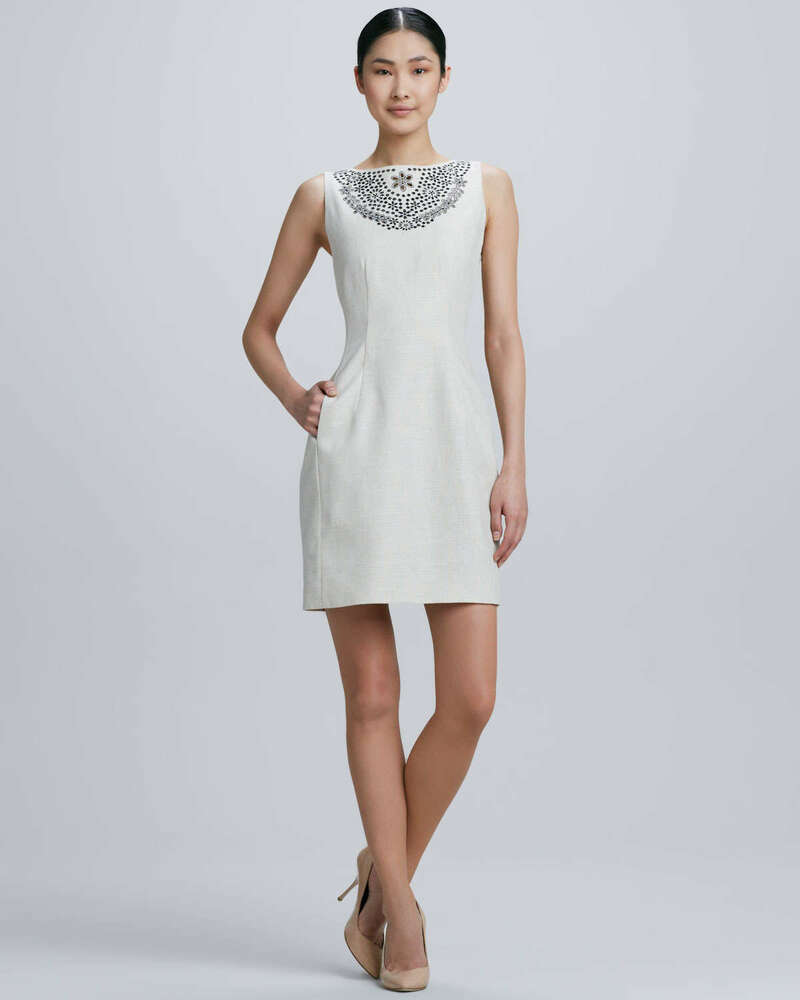 Galerry floral lace sheath dress kate spade