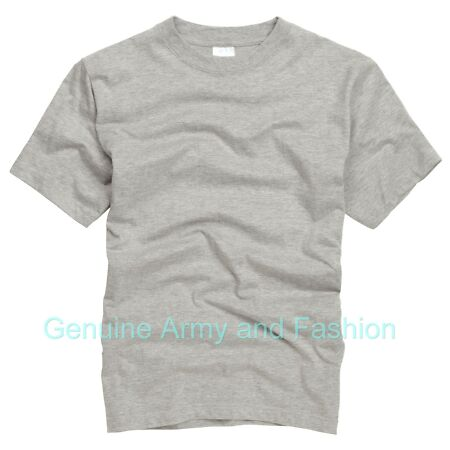 img-Army T Shirt US Combat Military Tactical Security Style Short Sleeve Top Grey