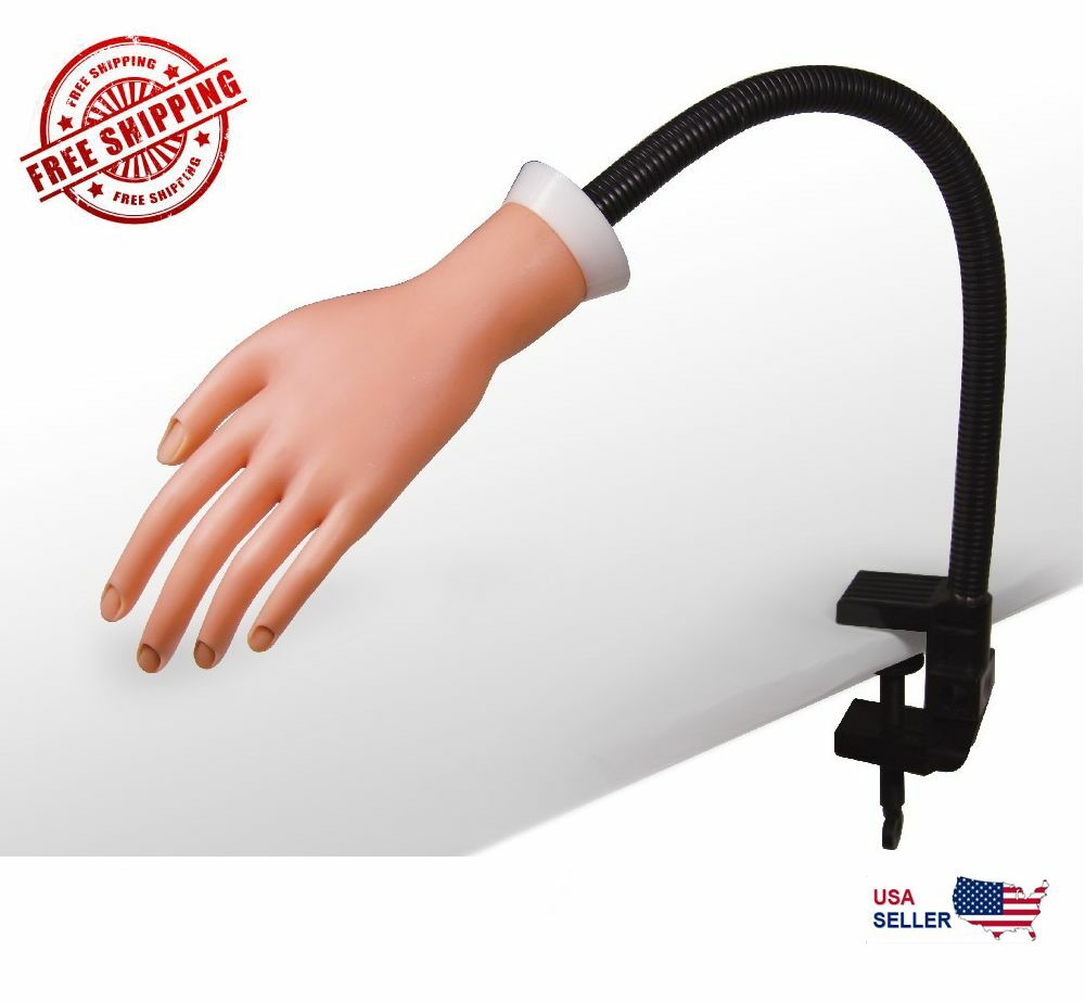 Pro Portable Nail Trainer Training Soft Flexible Practice ...