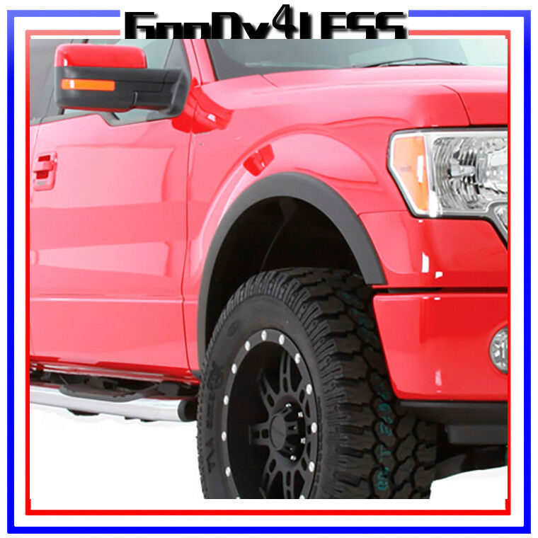 Replacement Fenders For Trucks : For ford f pickup oe factory style fender flares