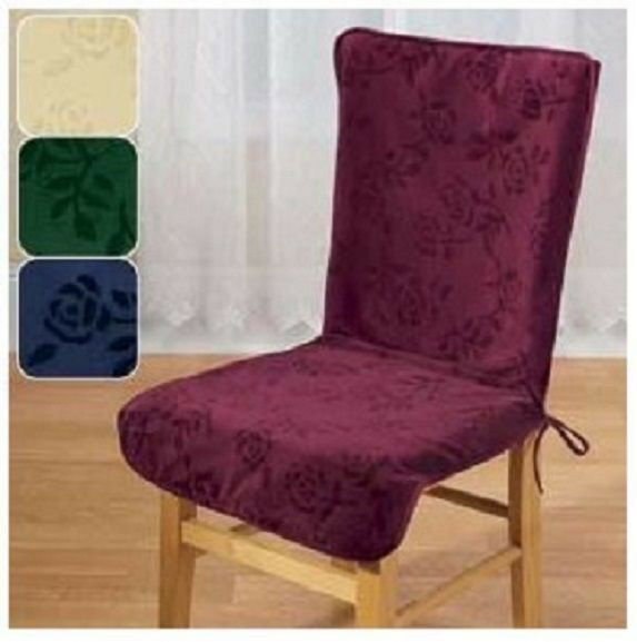 Dining Room Chair Back Covers: High Back Chair Covers Cream
