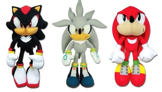 Knuckles/Shadow/Silver Sonic Great
