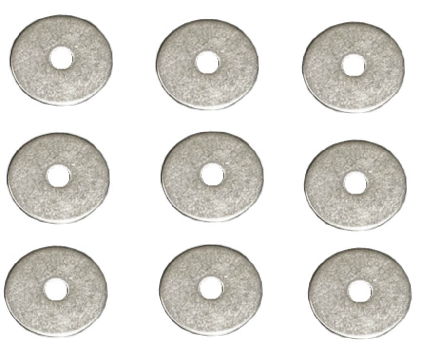 3mm X 12mm Steel Washers Blind Pop Rivet Flange Metal