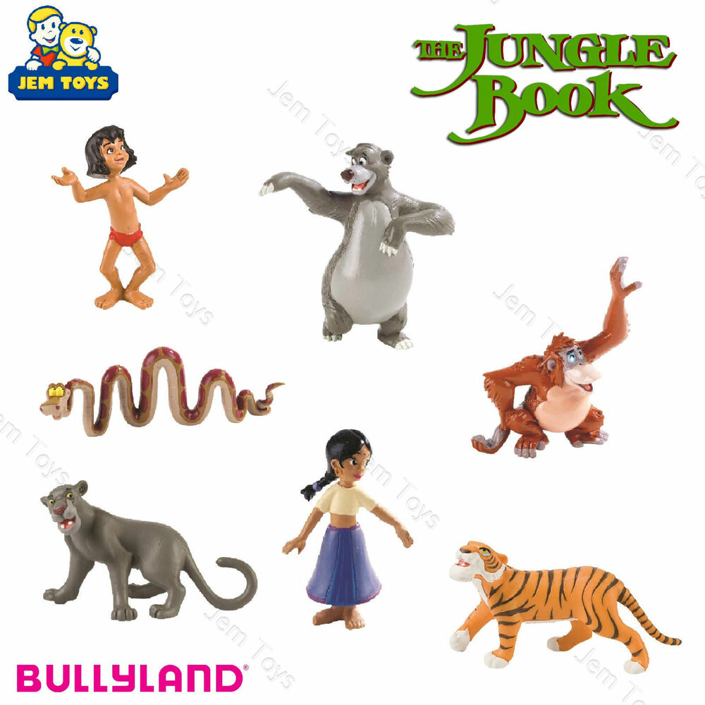 Disney Jungle Book Figures Figurines Toy Cake Topper ...
