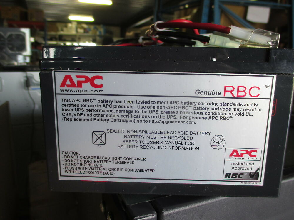 apc rbc ups replacement battery power supply ap 885 4514b. Black Bedroom Furniture Sets. Home Design Ideas