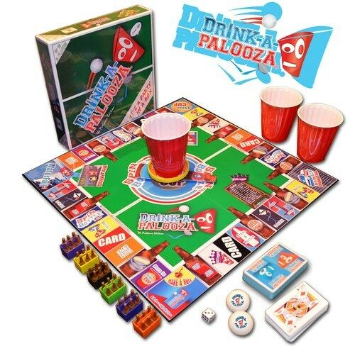 drink a palooza game adult drinking board game fun party laugh beer liquor new ebay. Black Bedroom Furniture Sets. Home Design Ideas