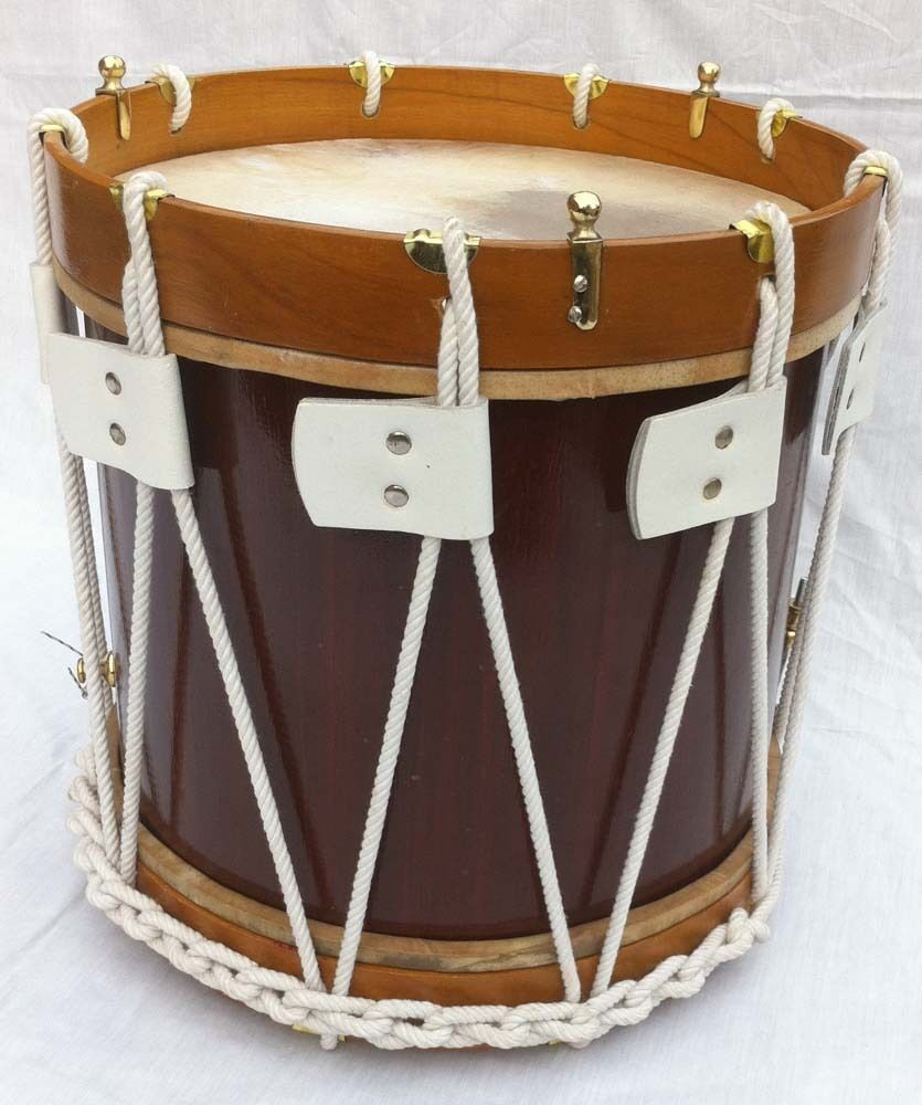 military heritage drum rope tension snare renaissance 14 x 12 calf skin heads ebay. Black Bedroom Furniture Sets. Home Design Ideas