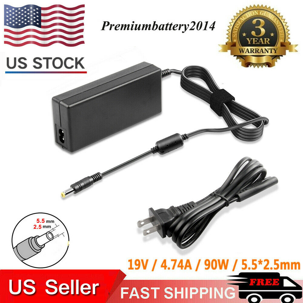 90w 19v 4 74a Ac Power Adapter Charger Laptop For Asus Ibm