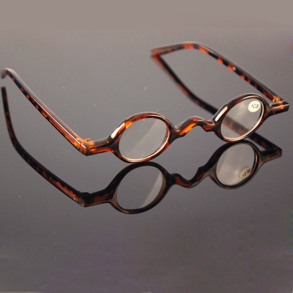 Designer Glasses Small round Oval Vintage Retro Reading ...
