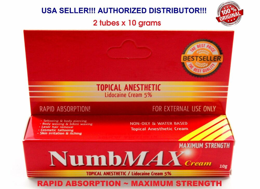 tattoo numbing cream: Numbmax Topical Anesthetic Tattoo Speed ...