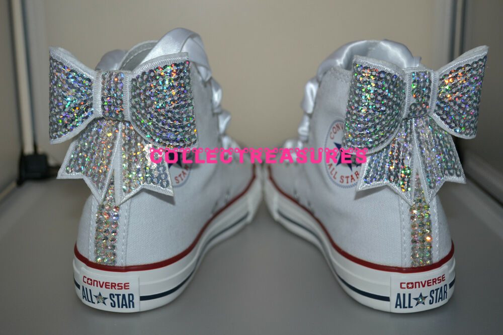 Crystal Converse Shoes
