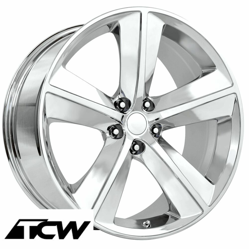 4 20x9 inch dodge challenger srt8 oe replica chrome wheels rims 5x115mm 20mm ebay. Black Bedroom Furniture Sets. Home Design Ideas