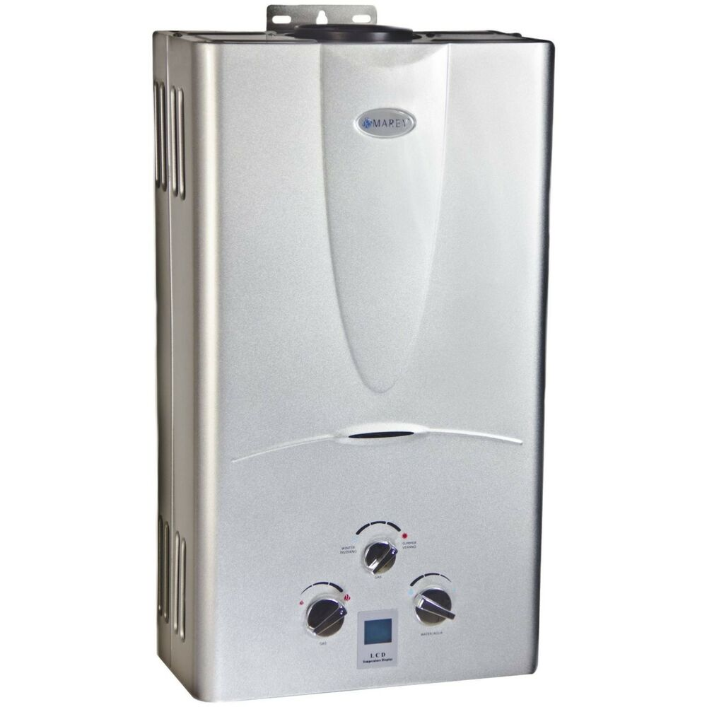 Marey Propane Tankless Water Heater Ga10lpdp 10l Digital