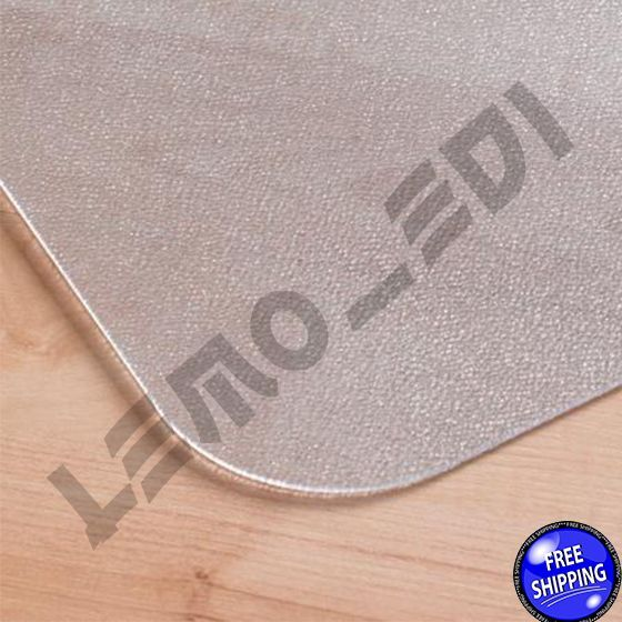 Office Chair Mat With Lip Desk Plastic For Hard Floor