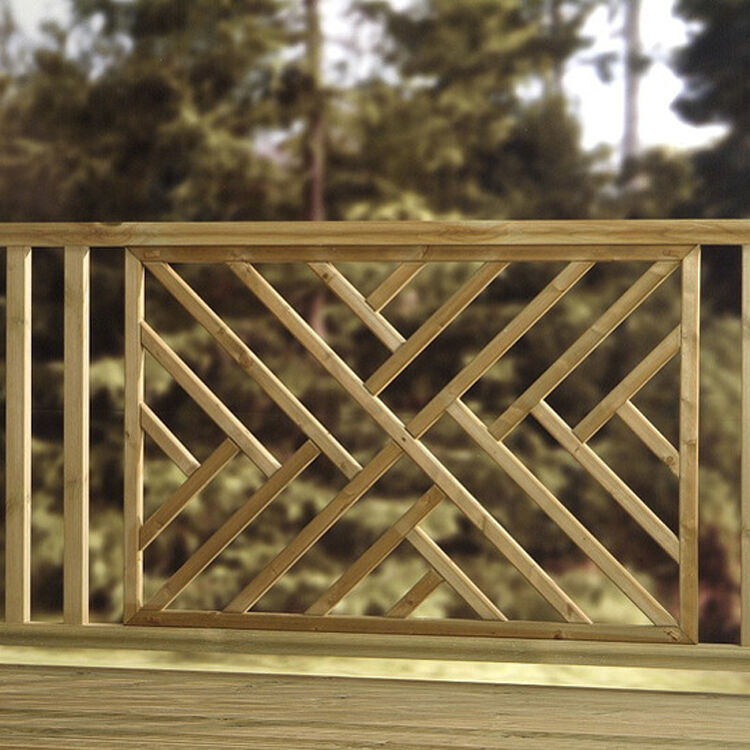Chevron criss cross hatch decking panel cheap tanalised for Cheapest place for decking