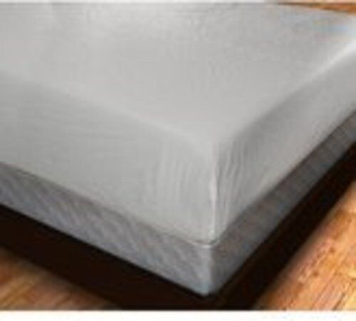 Plastic Fitted Mattress Protector Pad Cover Vinyl King