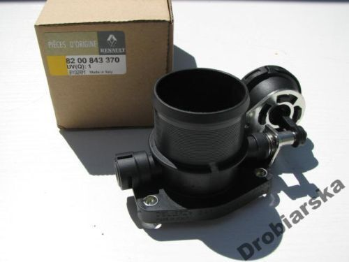 throttle body renault megane ii scenic ii 1 9 dci genuine 8200843370 ebay. Black Bedroom Furniture Sets. Home Design Ideas