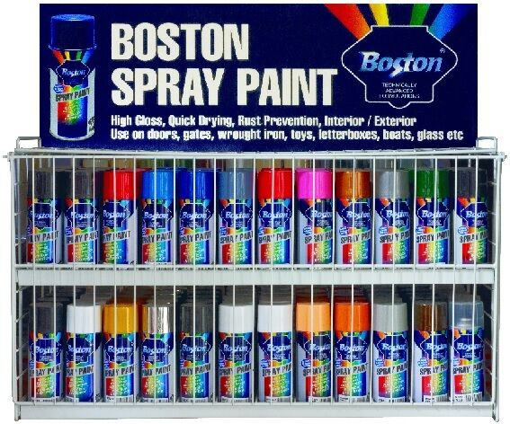 spray paint can cans 250gram range of colours for metal wood plastic. Black Bedroom Furniture Sets. Home Design Ideas