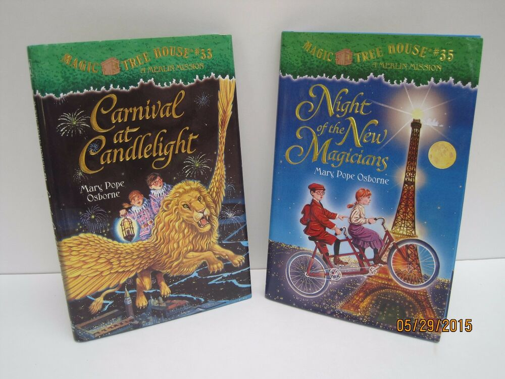 Lot of 36 books Magic Tree House Merlin Missions Mary Pope Osborne HARDCOVERS