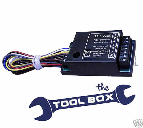 Incredible 7 Way Electronic Bypass Relay For 12V Towing Electrics Teb7As Wiring Cloud Ratagdienstapotheekhoekschewaardnl