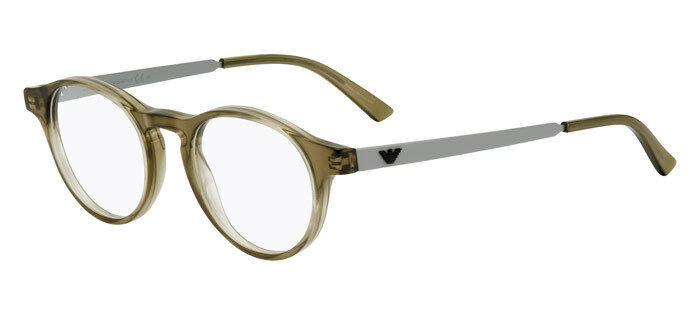 153ebf25761 Details about Emporio Armani EA9782 YYP Olive Grey Eyeglasses Frame  45-20-145 Round Italy RX