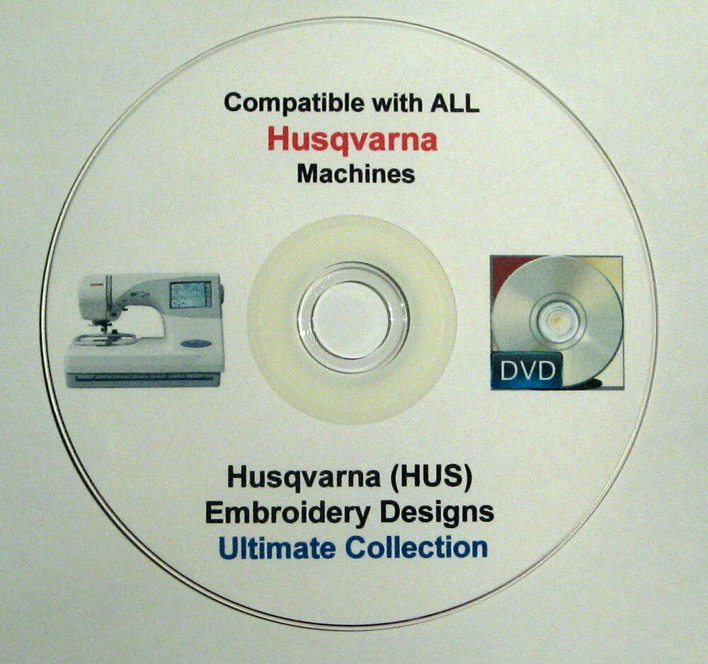 Husqvarna hus format embroidery designs off