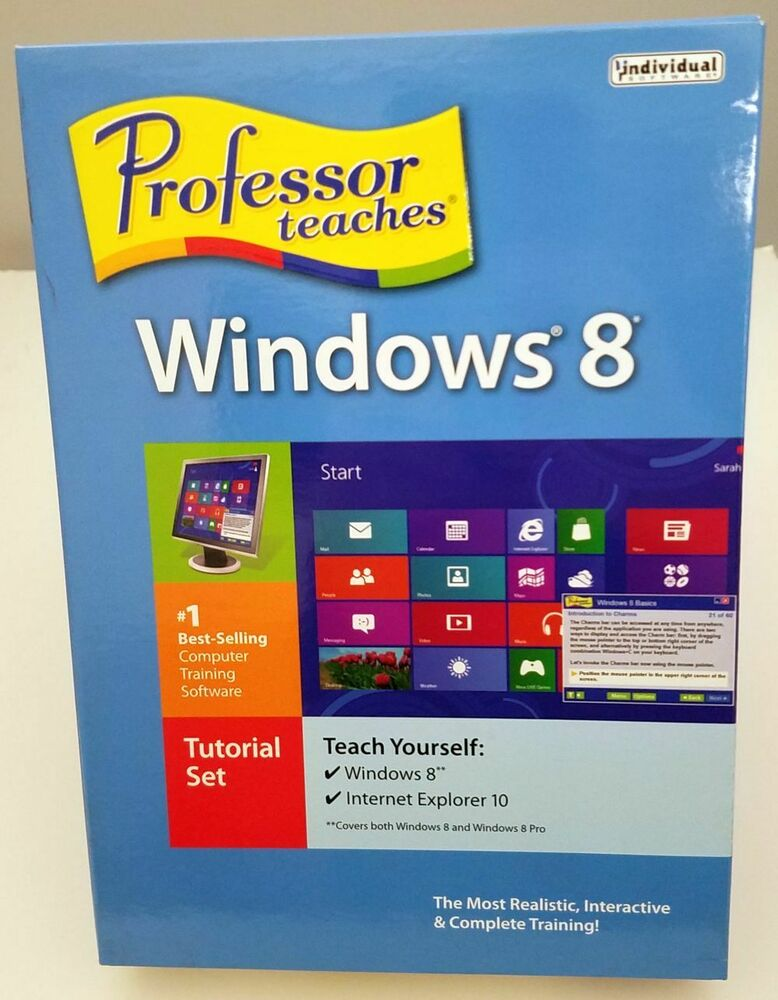 Individual Software: *SALE* Individual Software Professor Teaches Windows 8 PMM