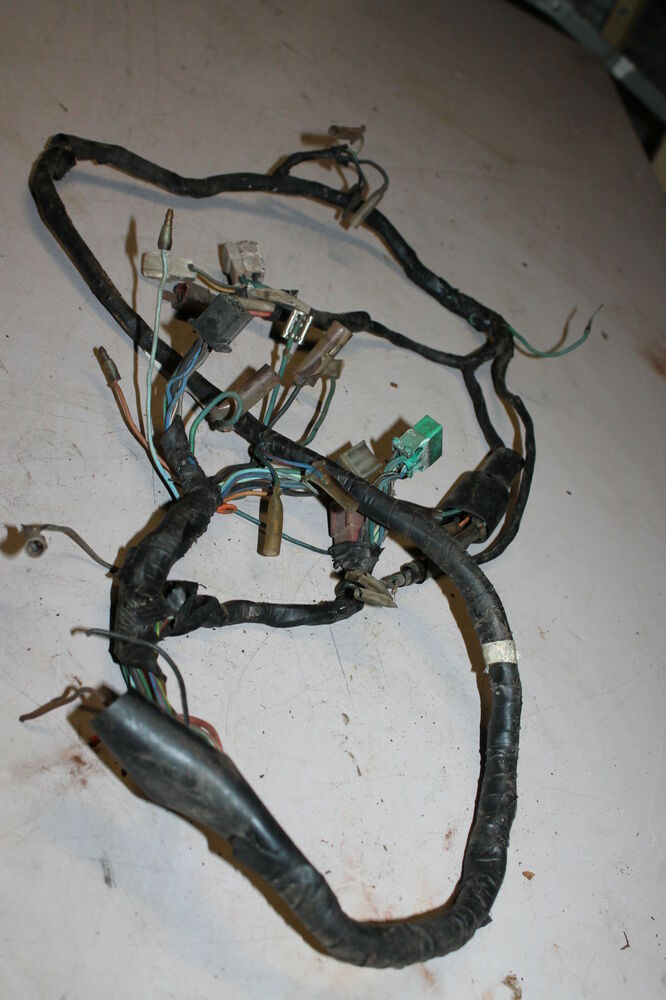 Honda cx main engine wiring harness motor