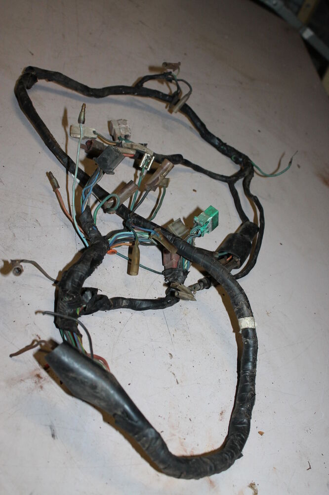 custom ecu wiring harness 1980 honda cx500 cx 500 main engine wiring harness motor ...