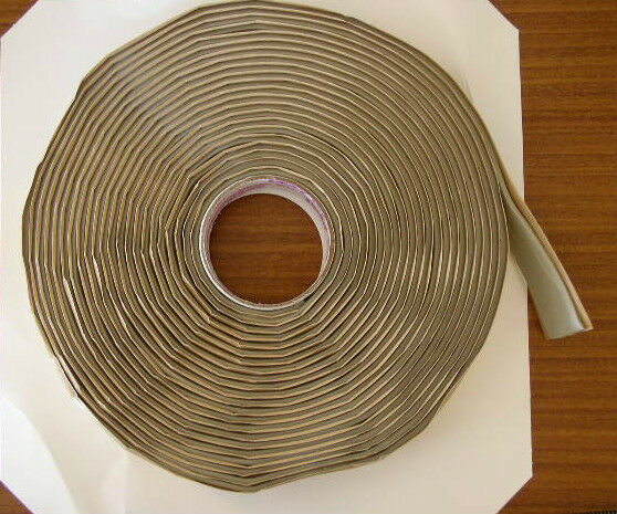 2 Rolls Of Butyl Tape Seal Tacky Tape For Rv Camper