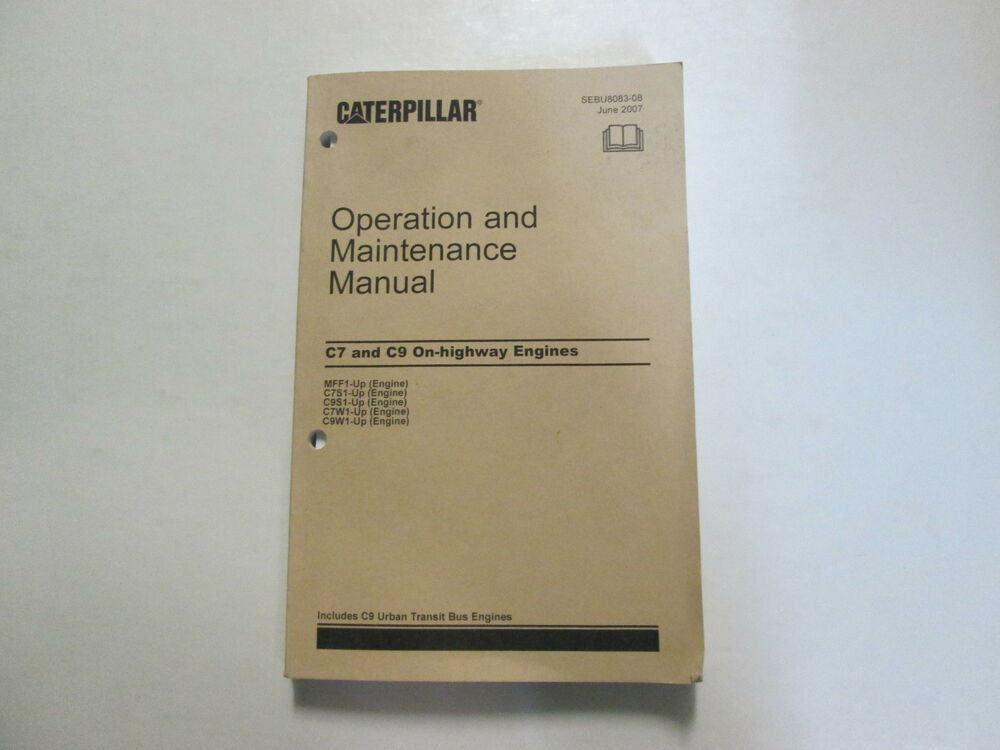 2005 cat c7 Repair Manual