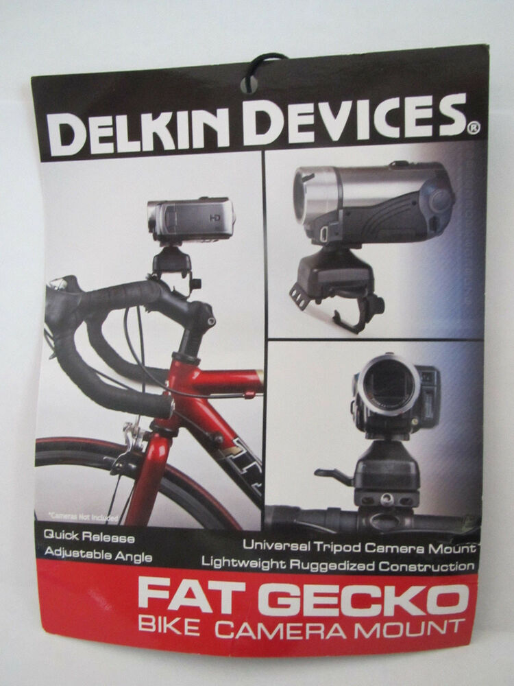 Delkin Fat Gecko Camera Bike Mount  eBay