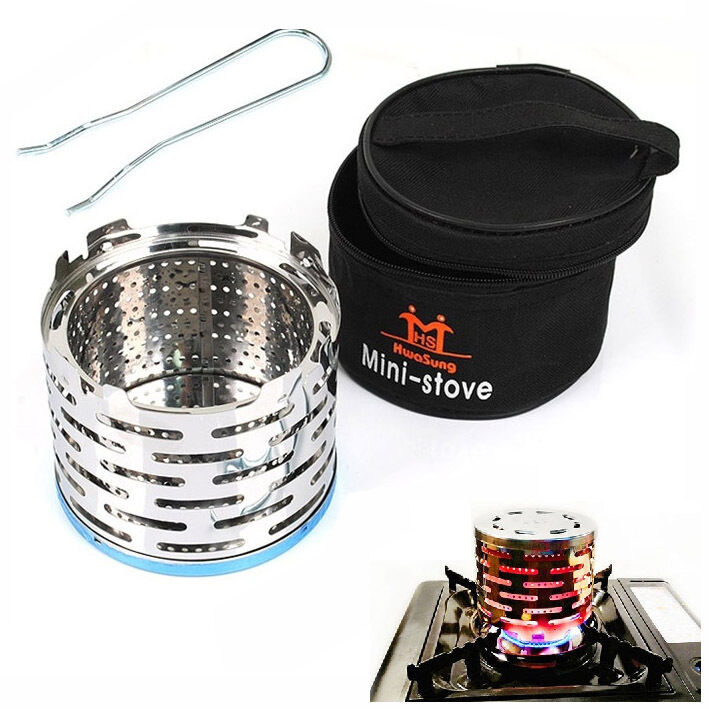 Camping Mini Portable Heater Cap For Butane Gas Stove