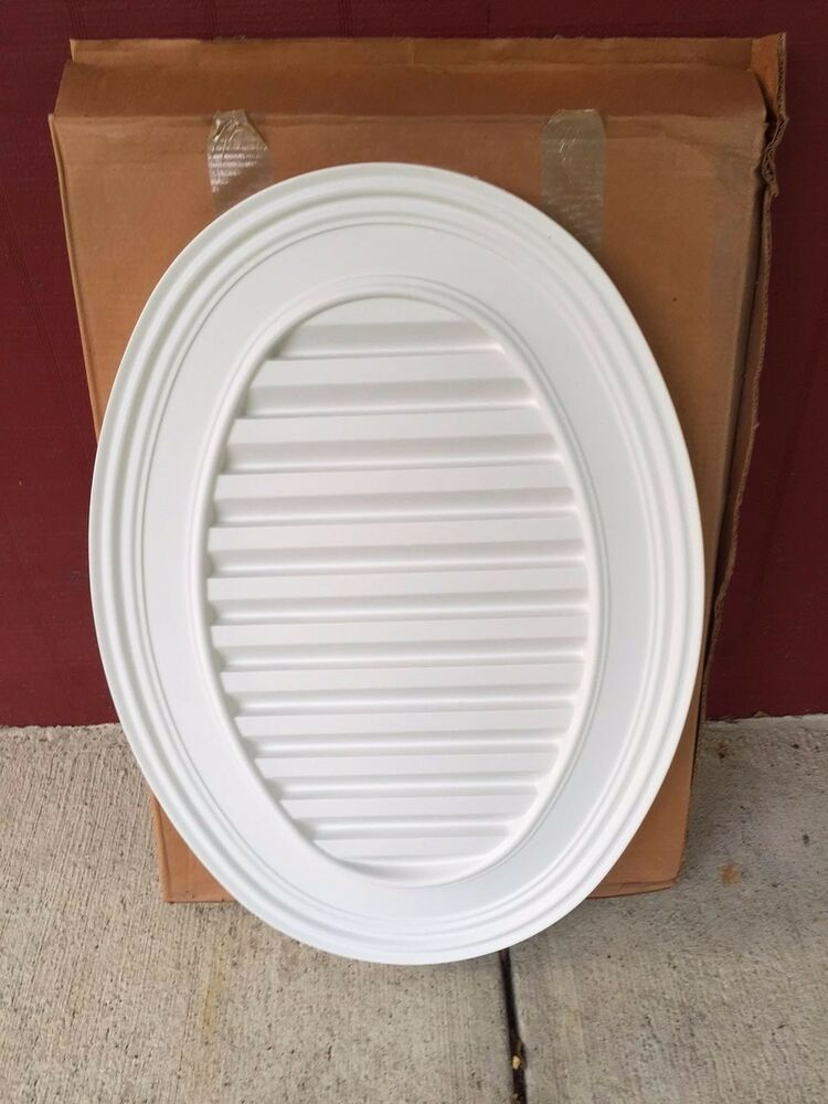 Fypon oval louver non functional diameter gable for Fypon gable vents