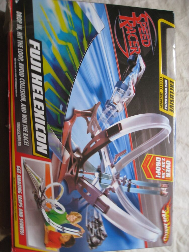Hot Wheels Speed Racer Fuji Helexicon Race Track And Car